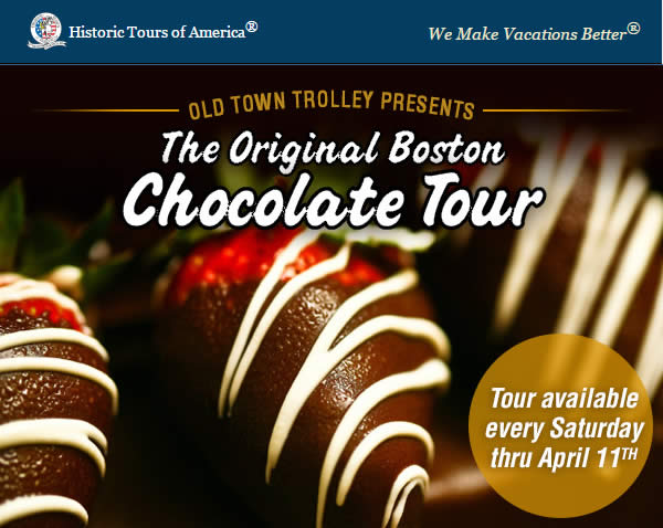 The Original Boston Chocolate Tour