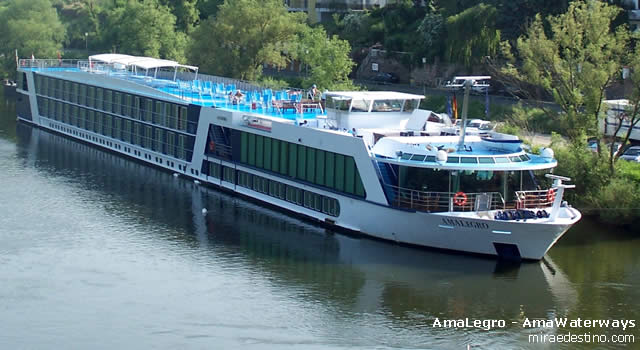 AmaLegro, AmaWaterways, Paris, Normandia