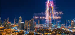 Virada do Ano no Burj Khalifa, Dubai - Happy New Year 2016 From Dubai