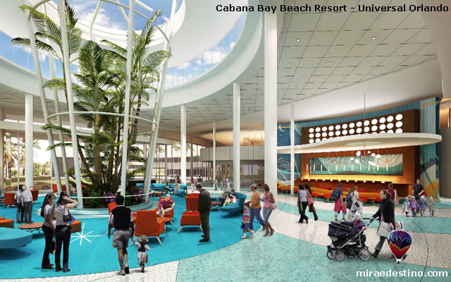 Cabana Bay Beach Resort - Universal Orlando