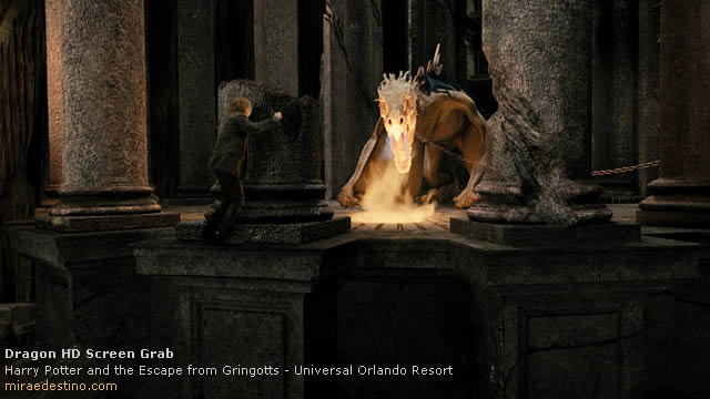 Harry Potter and the Escape from Gringotts, Universal Orlando Resort