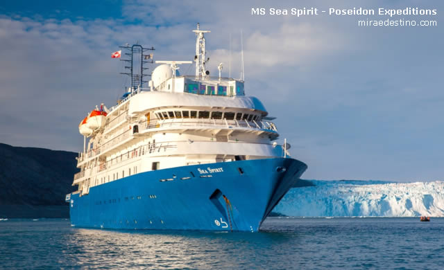 MS Sea Spirit - Poseidon Expeditions