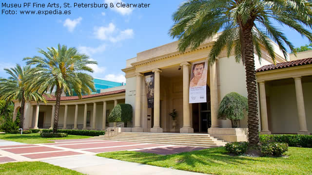 Museu Fine Arts, St Petersburg Clearwater