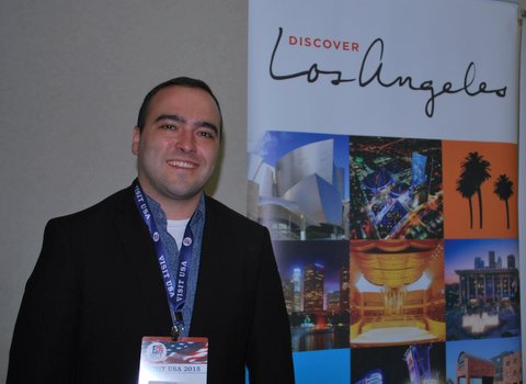 Pedro Romio - Los Angeles Tourism & Convention Board