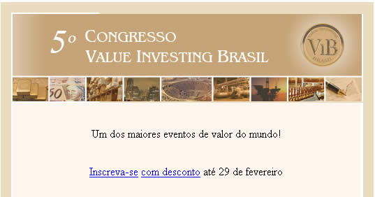 5º Congresso Value Investing Brazil