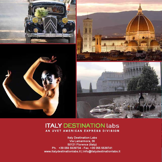 ITALY DESTINATION Labs - An Uvet American Express Division