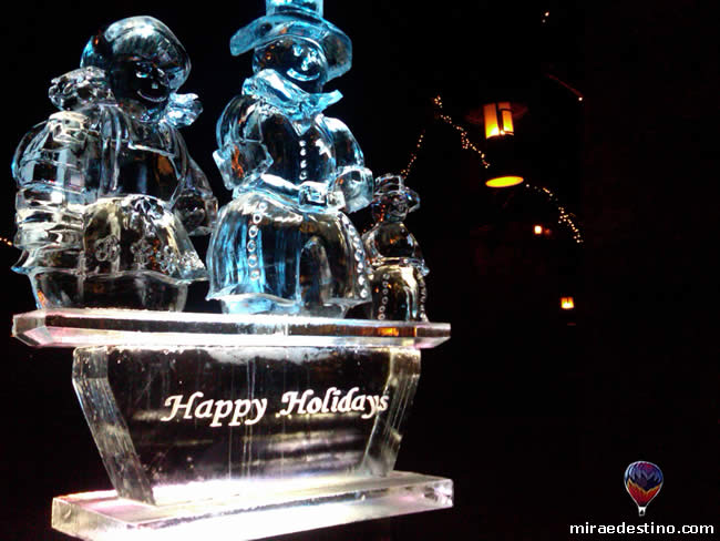 Vail Resorts - Apres on Ice Sculpture