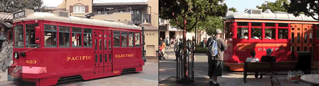 Tour Buena Vista Street - lojas da Disney California Adventure