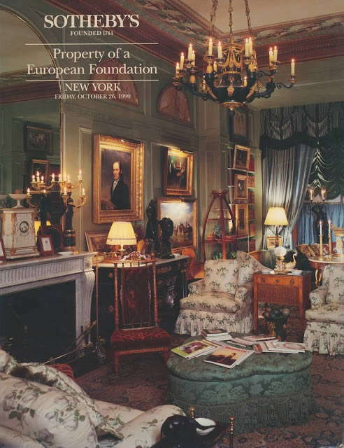 SOTHEBY´S - Property of a European Foundation - New York