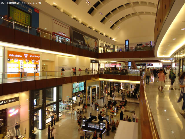 Shopping Mall Dubai - United Arab Emirates - UAE