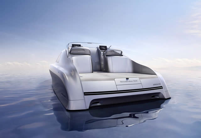 Silver Arrow of the Seas - Silver Arrows Marine, Mercedes-Benz Style