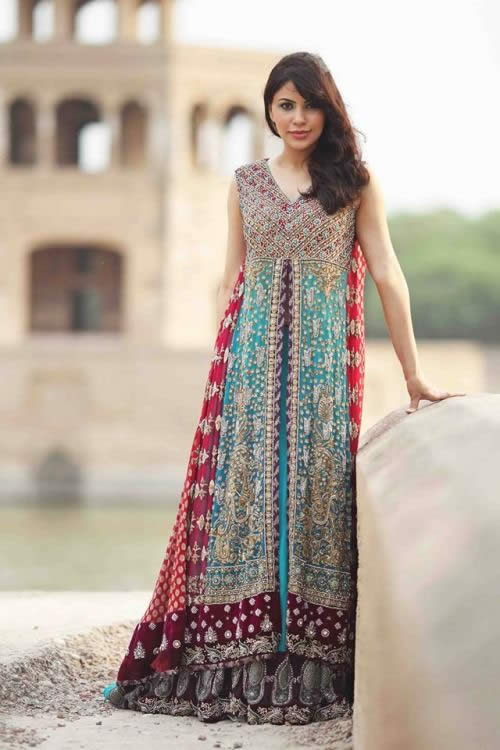 Wedding Dresses in Pakistan - Vestidos de Casamento no Paquistão