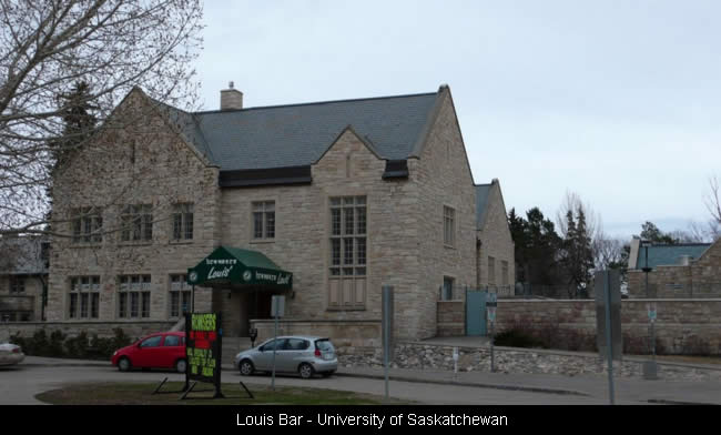 Louis Bar - University of Saskatchewan